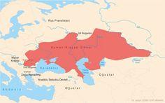 """Kıpçaklara Rusların """"saman sarısı"""" anlamında """"Plovesk"""" dediğini... Avrupalılar ise onlara """"Kuman"""" yani """"sarışın"""" dediklerini biliyor muydunuz?"""