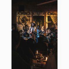 Grecia y su banda #music #concert #perfomance #singer #bar #pobrediablo #musicshow #musician #guitar #percussion #bass #sing #voice #candle #musicphoto #quito #ecuador #people #indoors #night #art