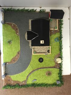 House of sport model - House best art Student House, Sports Models, Model Homes, Scale Models, Golf Courses, House Plans, Woodworking, Study, Construction