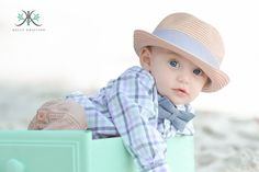 Kelly Kristine Photography | 6 month baby boy Photography Session on the beach