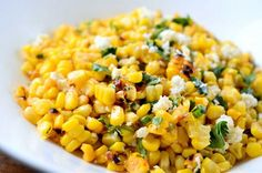 Chipotle Lime Grilled Corn Recipe