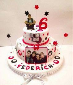 Big time rush cake
