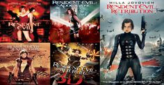 Resident Evil!! Love the entire movie series!!!