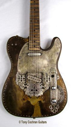 Tony Cochran Derringer guitar #64 for sale Picture