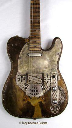 Tony Cochran Derringer guitar #64 for sale Picture