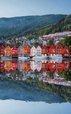 In Bergen , Norway.