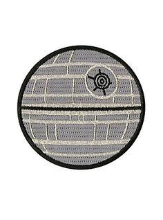 Star Wars Death Star Patch,