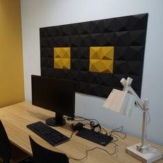 Lydabsorbent til vegg i dekorativ kork med tekstur Wall, 3d, Design, Walls