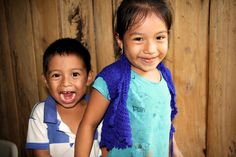 """Kids say the funniest things, and sometimes they pray for the funniest things too! When little Carlos David turned two, he started learning to pray through one of Compassion's local church partners in Mexico. """"It was so cute to hear him pray for the chickens and the cat!"""" says his mum Helda."""