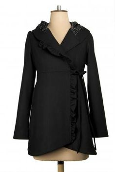 Elfin Jacket, Black