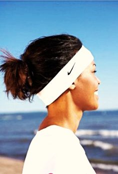 You know you have the best sister when she asks for a white Nike headband  for dc6ef291e32d
