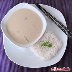 Tom Kha Gai – thailändische Kokos-Suppe mit Hühnchen » mjammi - Koch-Blog von Franzi Mälzer und Panagiotis Chatzichrisafis