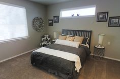 The Hudson by Hayden Homes - Master Bedroom - the Hudson offers 3 bedrooms and 2 bathrooms with 1,574 sq. feet.