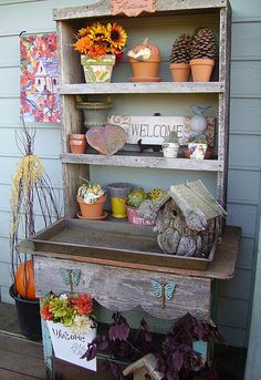 i love this.  from shabby to chic