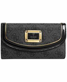 GUESS Wallet, Reama Slim Clutch - Guess - Handbags  Accessories - Macy's
