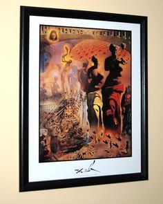 Framed Dali Hallucinogenic Toreador Print in Lewis' Garage Sale in Fayetteville , GA for $45.00.