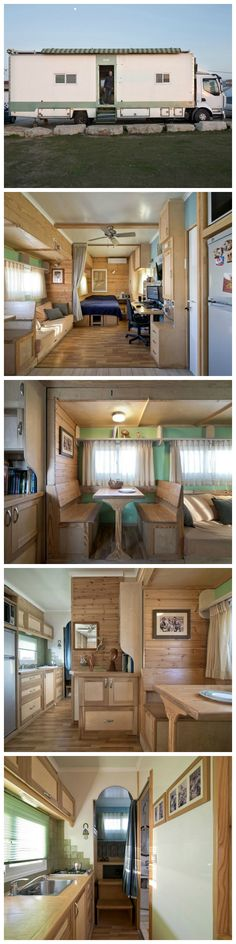 Truck Transformed Into Amazing Solar Powered Off Grid Home