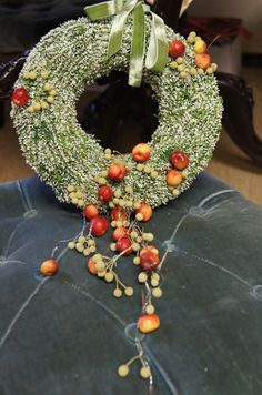 .interesting wreath...