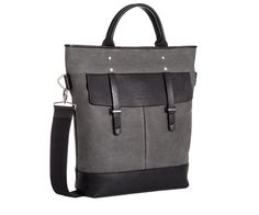 A stylish canvas and leather tote for everyday carry