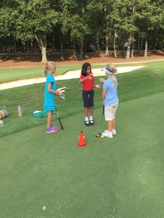 Breaking out the old rock, paper, scissors to determine playing order for the Ryder Cup Simulated Tournament. We love seeing our juniors improving their golf game! Find out more about Operation 36 & iGrow golf here: http://op36.golf/