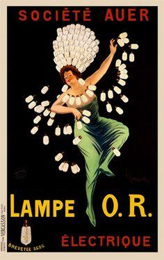 Title: Lampe O.R.    Artist: Cappiello    Circa: 1909    Origin: France