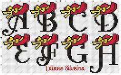 Pinta e Borda (Lidiane Silveira): Monogramas