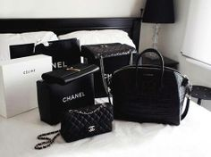 All Black Chanel