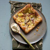 Recette tarte feuilletée pommes de terre - Marie Claire Idées