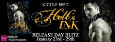 RELEASE DAY BLITZ: TEASERS, EXCERPT, AND GIVEAWAY: HELL'S INK by Nicole Reed ~ https://fairestofall.wordpress.com/2015/01/24/release-day-blitz-teasers-excerpt-and-giveaway-hells-ink-by-nicole-reed%e2%80%8f/
