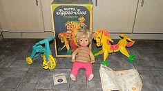 Mattel-VINTAGE-1967-Blonde-TIPPEE-TOES-Doll-w-BOX