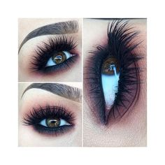 Instagram web viewer ❤ liked on Polyvore featuring makeup