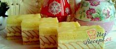 Recept Slavnostní tvarohové řezy - FOTOPOSTUP Dairy, Cheese, Food, Hampers, Essen, Meals, Yemek, Eten