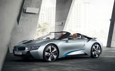 BMW i8 Concept Spyder will drop its top at the New York Auto Show- A convertible version of the upcoming BMW i8 sports car is a great way to get an eco-friendly tan.    http://www.digitaltrends.com/cars/bmw-i8-concept-spyder-will-drop-its-top-at-the-new-york-auto-show/