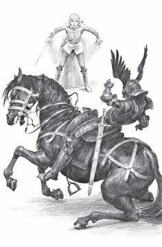 Час Презрения. Анджей Сапковский. Иллюстрация 13 The Witcher Game, The Witcher Books, Witcher Art, Fantasy Inspiration, Character Inspiration, Character Art, Warhammer Fantasy Roleplay, Unique Drawings, Book Illustration