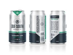 Due South Brewing Co. — The Dieline - Package Design Resource