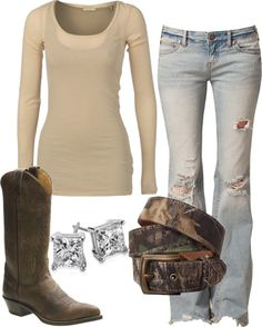 Cowboy boats outfit with jeans casual country fall Ideas Conjunto de botes de vaquero con jeans casual country fall Ideas Country Girl Outfits, Country Girl Style, Country Fashion, Country Girls, Country Fall, Country Casual, Southern Style, Country Chic, Southern Comfort