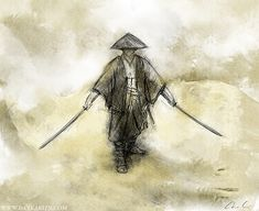 """Ronin"" - a term that has acquired an almost cult status in pop culture simply refers to a samurai who is no longer retained by a lord. They are depicted in pop culture as loners, be it good or evil, when in truth it was quite common for many Ronin to band together as hired mercenaries. The most famous of Ronin is arguably Miyamoto Musashi (1584-1645) who's prowess in battle saw him lend his swords to many wars."