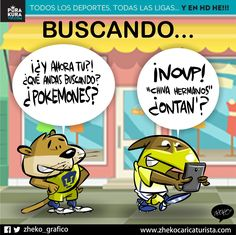 "#ElCartonDelDia para @PurakuraWeb""BUSCANDO"" #America #Chivas #ChivasTV @iCF_America#PokemonGo"