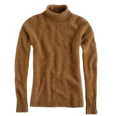 J.Crew Collection chunky turtleneck sweater ($395) ❤ liked on Polyvore