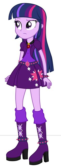 Twilight as Dazzlings by MixiePie.deviantart.com on @DeviantArt