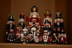 I love and collect Nutcrackers.