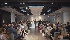 Wedding Ceremony at Arcadian Loft A different ceremony setup at the loft, standard chairs, facing different directions Wedding Ceremonies, Wedding Venues, Loft Wedding, Toronto Wedding, Event Venues, Contemporary, Modern, Hospitality, Chairs