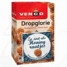 Dropglorie: zeer zacht, honingsmaak en lekker!