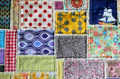 Super Scrappy Soccer Quilt - The {studio} blog by April Rosenthal