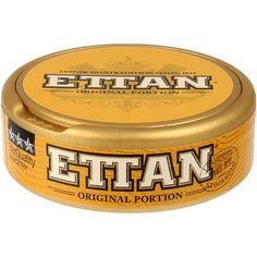 Originally manufactured by well known snus producer Ljunglöf in Ettan is one of the oldest snus brands in Sweden. Launched in a portion snus version in Ettan Portion is a classic snus flavored with the pure taste of tobacco. Pablo Escobar, Coffee Cans, Volvo, Budapest, Sweden, Old Things, Product Launch, Fan, Pure Products