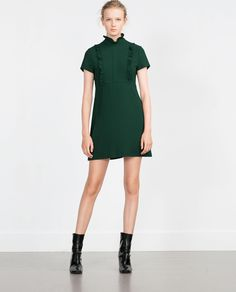 SHORT SLEEVE DRESS-View all-Woman-NEW IN | ZARA United States