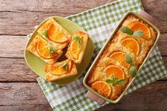 Narancsos, grízes süti - Recept   Femina Hungarian Recipes, Mets, Orange, Fresh Rolls, Nutella, Real Food Recipes, Cantaloupe, Food And Drink, Chocolate