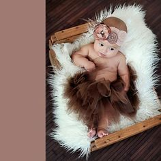 Zilly Bean Brown Infant Solid Tutu. Chocolate tutu for infant girls. See More Tutus And Pettiskirts at http://www.ourgreatshop.com/Tutus-And-Pettiskirts-C209.aspx