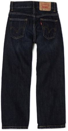 Levi's Boys 8-20 505 straight Slim Pant: www.amazon.com