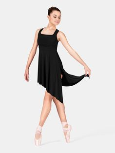Adult Lyrical Dress Twist Back